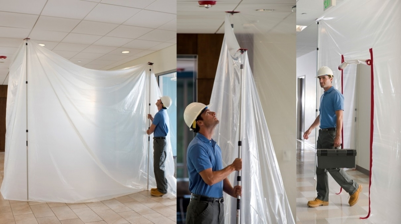 Florprotec launch ZipWall Dust Barrier System Range