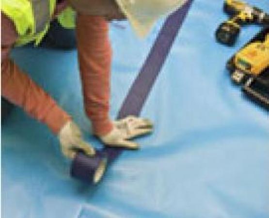 Megafilm floor protection